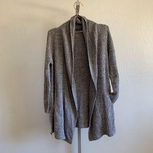 Barefoot Dreams Sweaters - Barefoot Dreams montecito cozychic gray cardigan